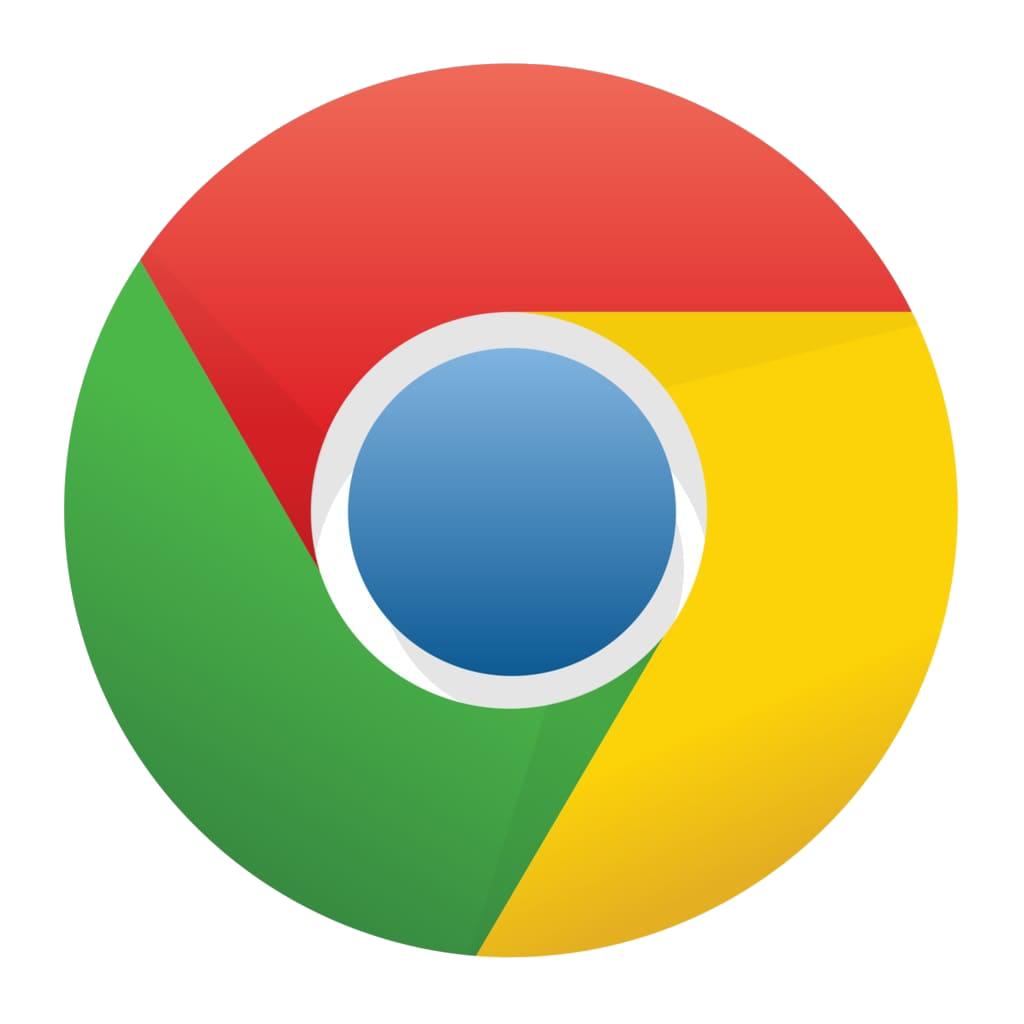 Гугл хром цвет фона